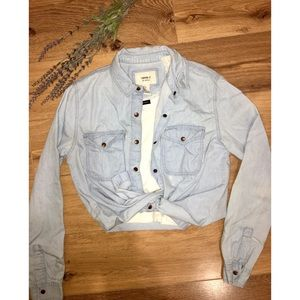 3 for $15 Chambray top
